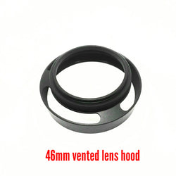 46mm Metal Vented Lens Hood