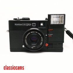 Konica C35 EFP 35mm Film Camera