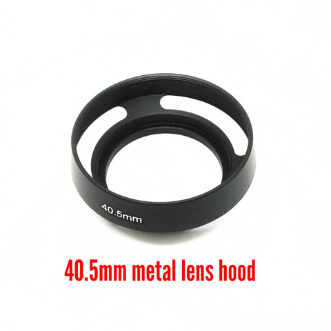 40.5mm Metal Vented Lens Hood