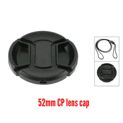 52mm Centre-pinch Lens Cap