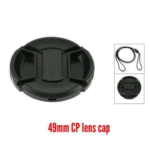 49mm Centre-pinch Lens Cap
