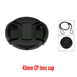 43mm Centre-pinch Lens Cap