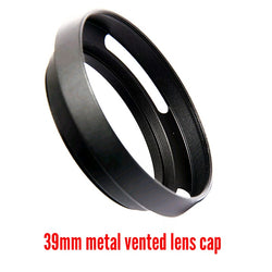 39mm Metal Vented Lens Hood