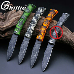 Camping Hiking Fishing EDC Pocket Knife
