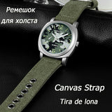 Sports Casual Men's Watch - Camo Green
