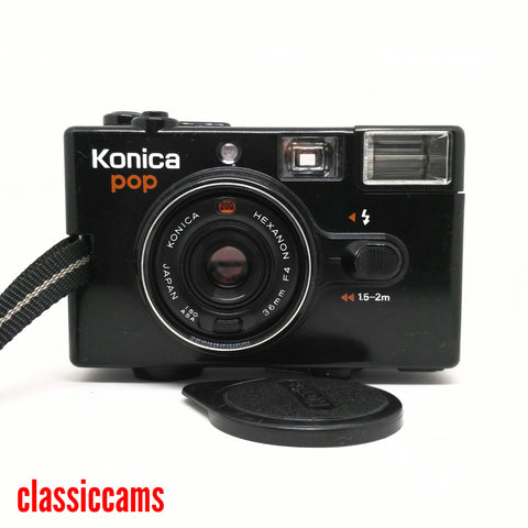 Konica Pop 35mm Film Camera