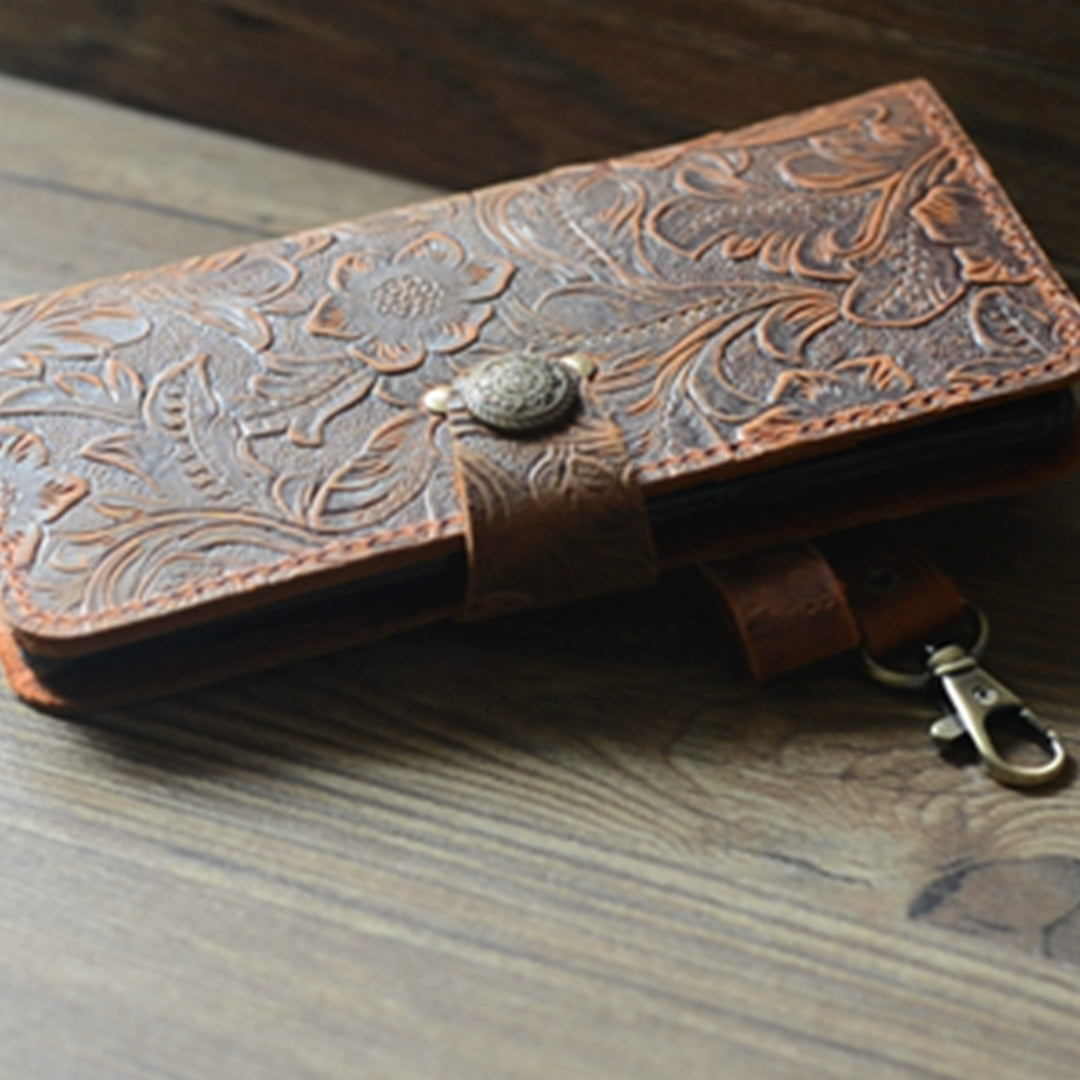 Genuine leather Retro Wallet for Iphone XS Max 6.5 inches Wallet Case