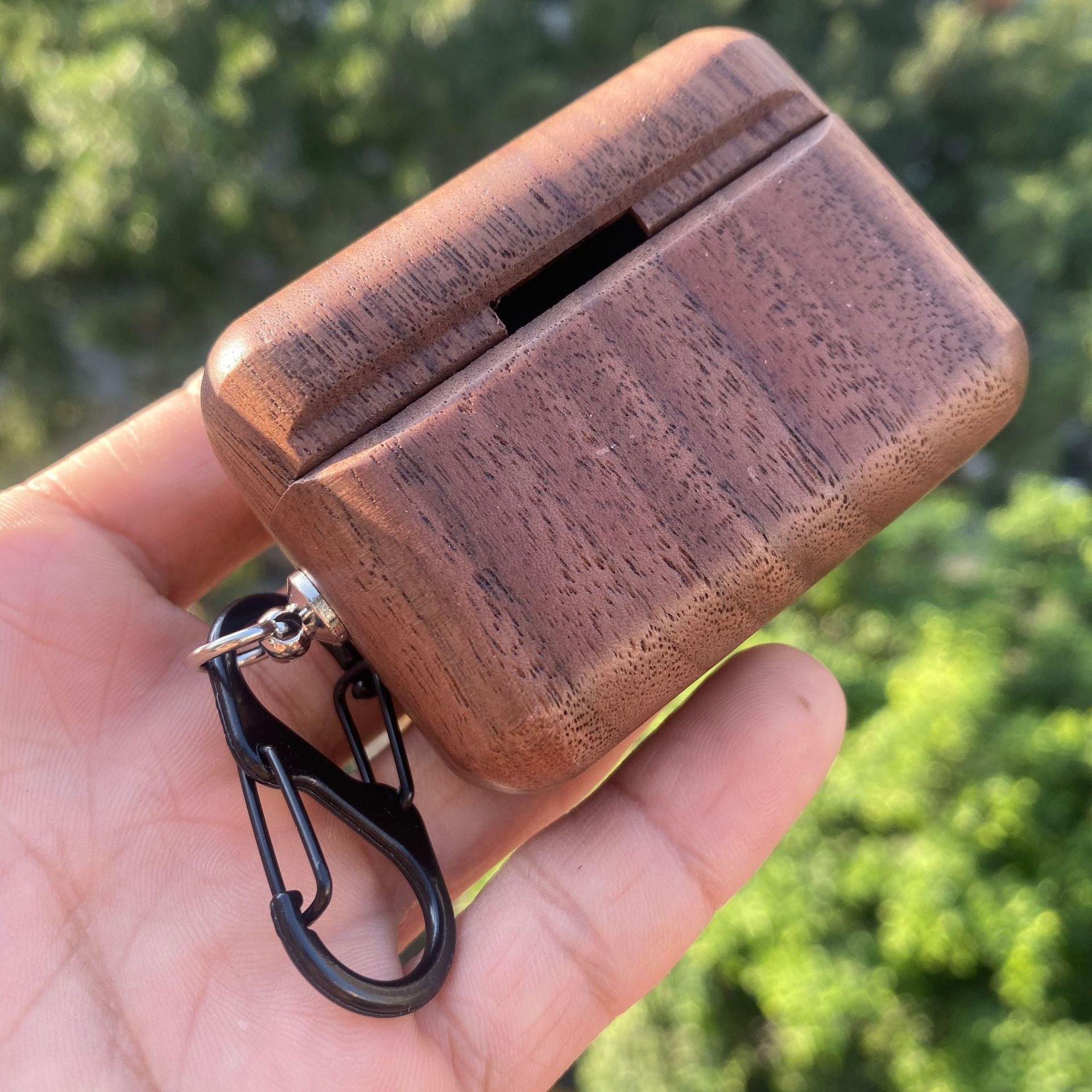 Real Wood Case for AirPods pro  cover