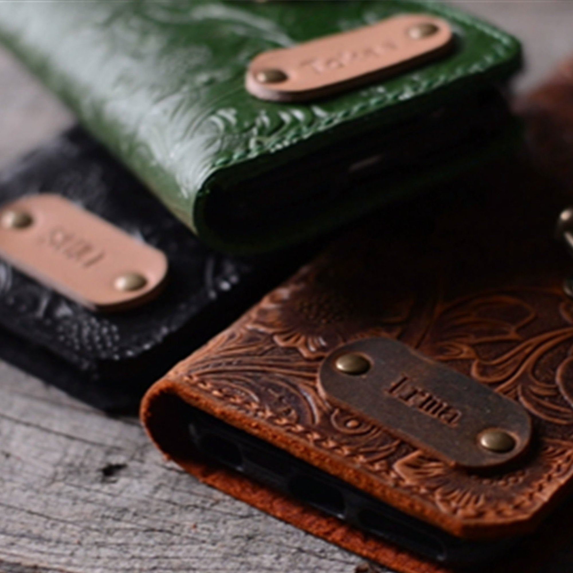 JJNUSA  Genuine Leather Distressed Wallet for Google Pixel 4 XL / 4  Wallet Case