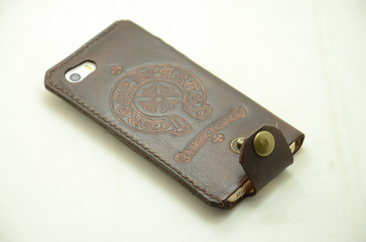 JJNUSA Genuine Vegetable Tanned leather for Iphone 11 Pro Max 6.5 inches  Case