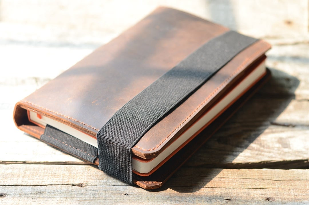Tablet iPad Mini Leather  and Large Moleskine  Cover,   Moleskine Leather Cover, Leuchtturm 1917 Leather Case, notebook A5