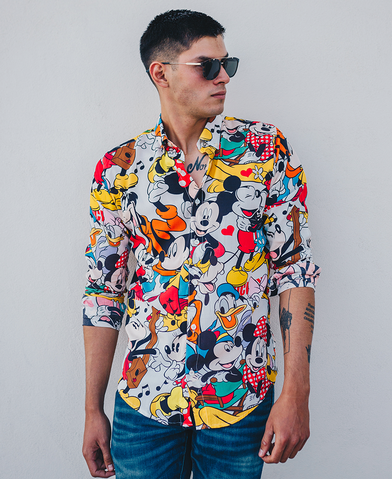 Camisa Caballero Magic Kingdom