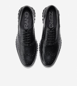Cole Haan ZeroGrand Black Wingtip