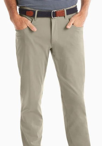 Johnnie-O Cross Country Light Khaki Prep-Formance Pant