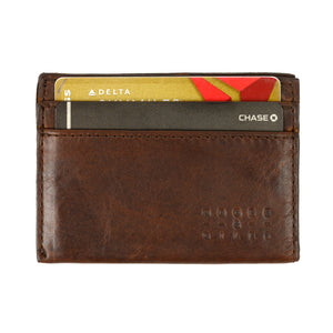 Moore & Giles License Wallet in Baldwin Oak