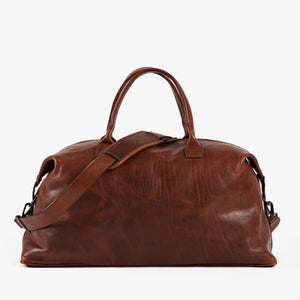 Moore & Giles Benedict Weekend Bag Titan Milled Honey