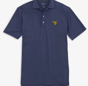 Johnnie-O WVU Birdie Twilight Prep-Formance Polo