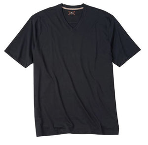 Left Coast Tee Black V-Neck Tee Shirt