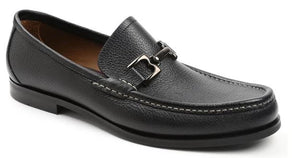 Bruno Magli Enrico Black Bit Loafer