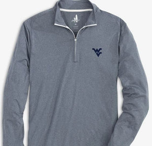 Johnnie-O WVU Flex 1/4 Zip PrepFormance Pullover