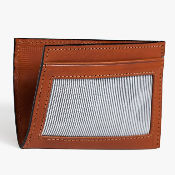 Moore & Giles License Wallet in Modern Saddle