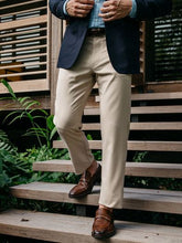 Mizzen+Main Baron Sand Trim Fit Chino