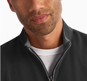 Johnnie-O Sully Black 1/4 Zip