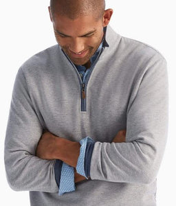 Johnnie-O Sully Light Grey 1/4 Zip