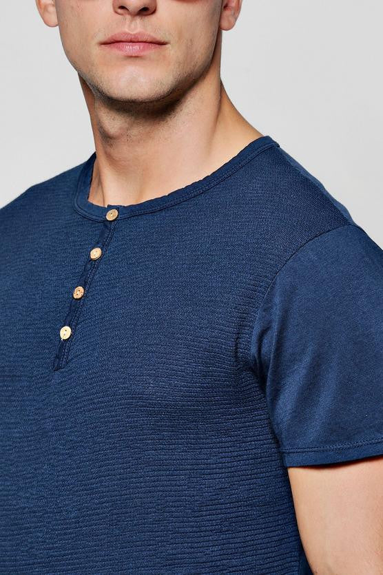 Taurin Shirt in Navy