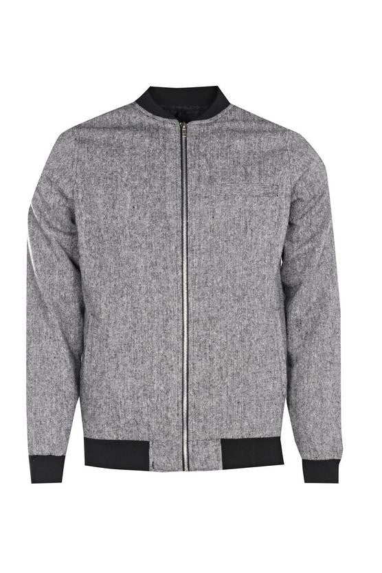 Basic Bomber in Grey
