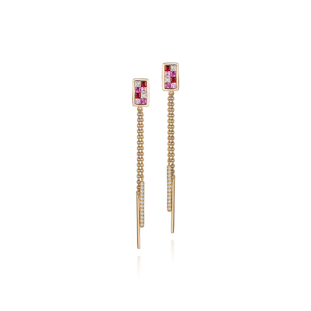 18k Wire Bloom Earrings