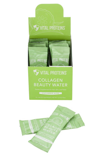 Collagen Beauty Water - Cucumber Aloe - Stick Pack - 14ct
