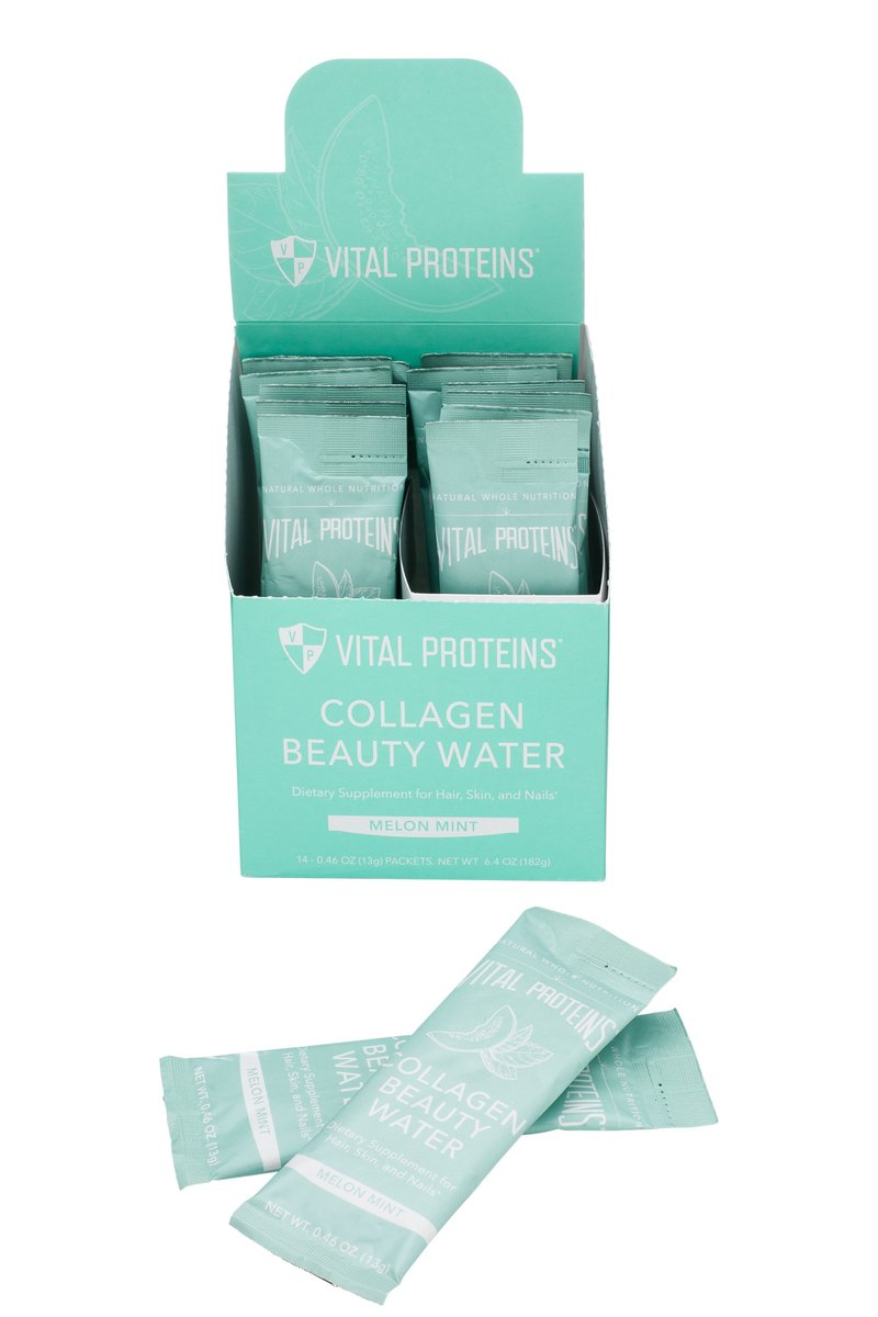 Collagen Beauty Water - Melon Mint - Stick Pack - 14ct