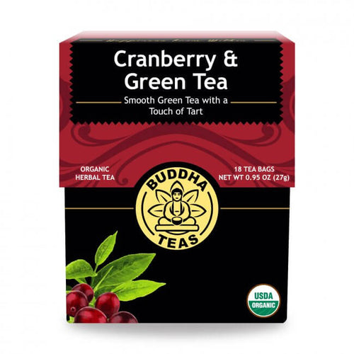 Buddha Teas - Organic Cranberry & Green Tea