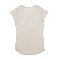Ugly ibis scoop neck tee