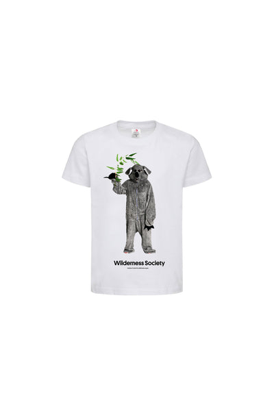 Limited Edition Koala Suit Organic Kids' T-shirt (PREORDER ITEM)