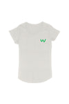 Lapel logo Women's Organic Cotton T-shirt