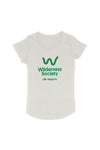 Life support Green Logo Oatmeal Tshirt