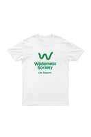 Life support Green Logo White Tshirt
