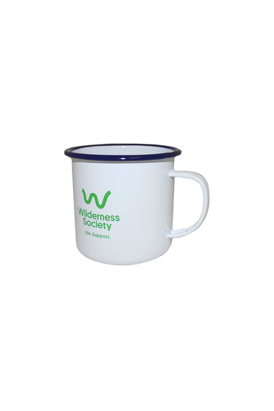 Life Support Enamel Cup