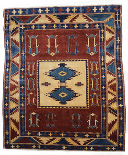 Turkish Antique Kilim , Karabuka