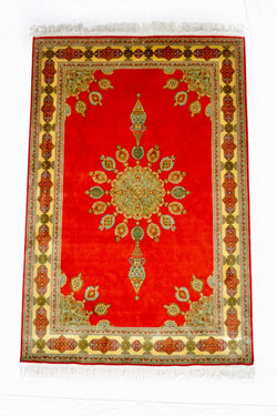 Silk-on-Silk Carpet