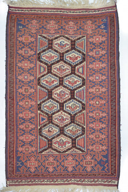 Afghan Kilim-Mimiana Center