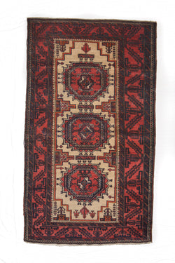 Afghan Antique Kilim, Balouchi