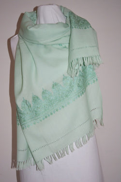 Wool Embroidered Shawl