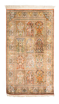 Silk-on-Silk Carpet, Qaffas-Hamdan