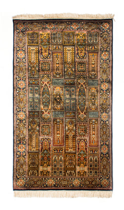 Silk-on-Silk Carpet, Shadman-Qum