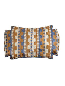 KGA Geometric Chainstitch Pillow Cover
