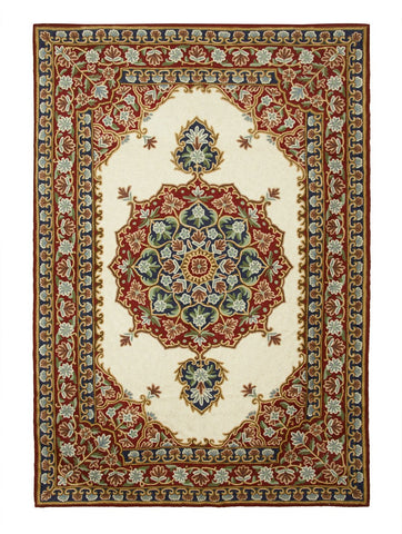 Mandala Chainstitch Rug