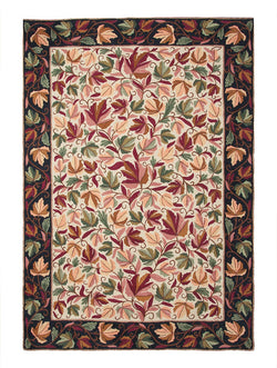 Autumn Chinar Chainstitch Rug